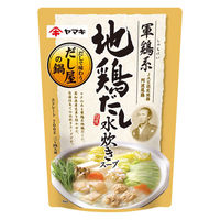ヤマキ 軍鶏系地鶏だし水炊きスープ