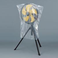 大型規格袋(ポリ袋) LDPE・透明 0.031mm厚 90号 900mm×1000mm 1セット(100枚:20枚入×5袋) 伊藤忠リーテイルリンク