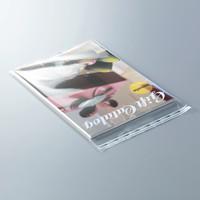 今村紙工 サイドシール強化OPP袋(シールつき) A4 225×310+40 ZOPP-A4 1セット(1000枚:100枚入×10袋)