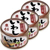 【アウトレット】マルハニチロ いわし煮付 1セット(150g×3缶)