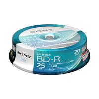 SONY 録画用ブルーレイ BD-R 130分1層4倍速20BNR1VJPP4 白 20BNR1VJPP4 1パック(20枚入)