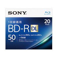 SONY 録画用ブルーレイ BD-RDL 260分2層6倍速20BNR2VJPS4 20BNR2VJPS4 1パック(20枚入)