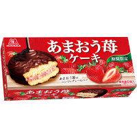 森永製菓 あまおう苺ケーキ
