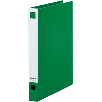 キングジム レバーリングファイル A4タテ 背幅33mm 緑 6672ミト 1箱(10冊入)