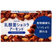 ロッテ 乳酸菌ショコラ アーモンド 1箱