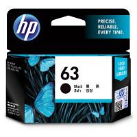 HP 純正 インクカートリッジ HP63 黒 F6U62AA