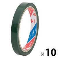 ニチバン セロテープ(着色)12mm×35m 緑 1箱(10巻入) 4303-12