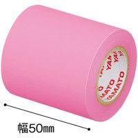 ヤマト メモックロールテープ詰替用 幅50mm×10m巻 ローズ RK-50H-RO 12巻