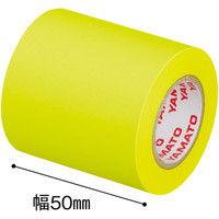 ヤマト メモックロールテープ 蛍光カラー スペア レモン RK-50H-LE 1箱(12巻入)