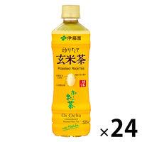 伊藤園 おーいお茶 抹茶り玄米茶 カフェインゼロ 525ml 1箱(24本)