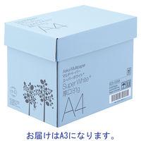 【高白色】【白色度98%】スーパーホワイト+A3 厚口 1箱(500枚入×3冊)
