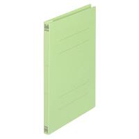 プラス フラットファイル樹脂製とじ具 B5タテ グリーン No.031N 1セット(30冊)