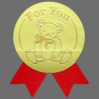 タカ印 機械貼ギフトシール100P 通年 22-4024 1袋(4片×25シート)