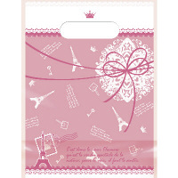デコラパック パリ 小 ピンク 1袋(50枚入) タカ印 (取寄品)