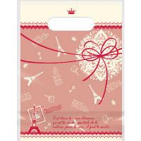 デコラパック パリ 小 レッド 1袋(50枚入) タカ印 (取寄品)