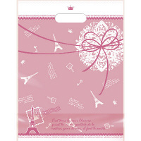 デコラパック パリ 大 ピンク 1袋(50枚入) タカ印 (取寄品)