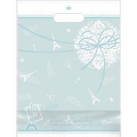 デコラパック パリ 大 ブルー 1袋(50枚入) タカ印 (取寄品)