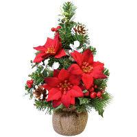 クリスマスツリーM レッドポインセチア