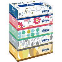 ティッシュペーパー 180組×5箱 クリネックス 北欧デザイン 1パック(5箱入) 日本製紙クレシア