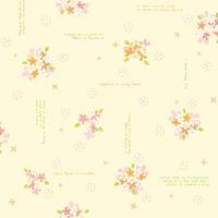 包装紙 全判 ファンシーフラワー 49-2516 1袋(50枚入) タカ印 (取寄品)