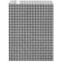 ギフトバッグ 平袋 幅180×高さ230mm ギンガムくろ 1袋(200枚入) タカ印 (取寄品)