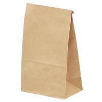ギフトバッグ 角底袋 小 未晒 1袋(100枚入) タカ印 (取寄品)