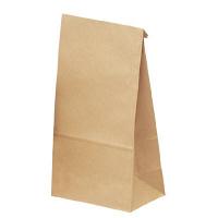 ギフトバッグ 角底袋 中大 未晒 1袋(100枚入) タカ印 (取寄品)