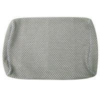 フランスベッド エアレートピロー専用 枕カバー グレー 1枚 (取寄品)