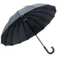 煌 耐風傘インディゴストライプ