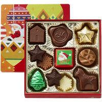 モロゾフ クリスマスプレーンチョコレート