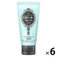 ロゼット 洗顔パスタ アクネクリア 120g×6個