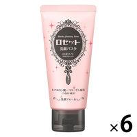 ロゼット 洗顔パスタ 白泥リフト(ハリ対策) 120g×6個
