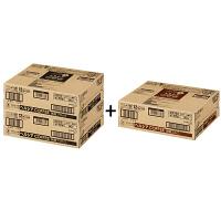 缶コーヒー 特定保健用食品(トクホ) ヘルシアコーヒー 無糖BLACK(ブラック)&微糖ミルクセット 185g 1セット(90缶:無糖×2箱、微糖×1箱)