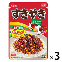 丸美屋 すきやき 大袋 84g 1セット(3袋)