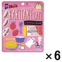 亀田の柿の種 いちごチョコ 6袋