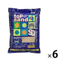 トップサンド21 スクエア 6L 1ケース(6袋) サンメイト