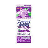 明治 メイバランスブリックゼリー ぶどう味 1箱(24個入)(取寄品)