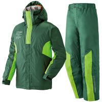 LIPNER(リプナー) 防水防寒スーツ ジョー36 グリーン LL 1セット(ジャケット・パンツ) LOGOS(ロゴス) (取寄品)