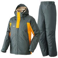 LIPNER(リプナー) 防水防寒スーツ メイソン56 オレンジ LL 1セット(ジャケット・パンツ) LOGOS(ロゴス) (取寄品)