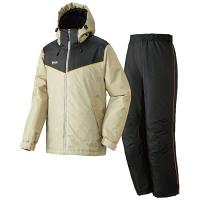 LIPNER(リプナー) 防水防寒スーツ オーウェン60 サンド L 1セット(ジャケット・パンツ) LOGOS(ロゴス) (取寄品)