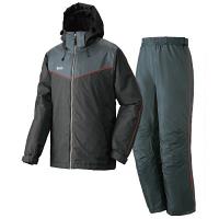 LIPNER(リプナー) 防水防寒スーツ オーウェン71 ブラック LL 1セット(ジャケット・パンツ) LOGOS(ロゴス) (取寄品)