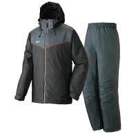 LIPNER(リプナー) 防水防寒スーツ オーウェン71 ブラック L 1セット(ジャケット・パンツ) LOGOS(ロゴス) (取寄品)