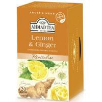 【アウトレット】AHMAD TEA レモン&ジンジャー 1箱(20袋入)