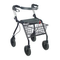 歩行車 ラックヘルスケア オパルブラック 5200 大サイズ (取寄品)