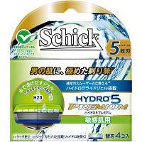 ハイドロ5プレミアム 敏感肌用 替刃(4個入) シック・ジャパン