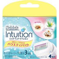 イントゥイション バラエティパック 替刃(3個入) シック・ジャパン