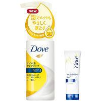 【数量限定】ダヴ(Dove) オイル泡クレンジング 135ml+ビューティモイスチャー洗顔料30g ユニリーバ