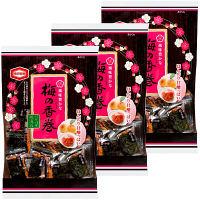 亀田製菓 梅の香巻 19枚 1セット(3袋入)