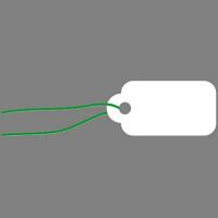 ササガワ タカ印 提札 長型 小物用 白無地 18-100 1箱(1000枚入)(取寄品)