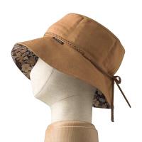 特殊衣料アボネット+ジャリ ハットフラワー 2081 ブラウン フリーサイズ (取寄品)
